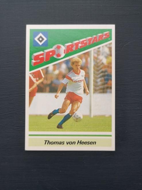 Thomas Von Heesen Hamburg TONKA102 Card
