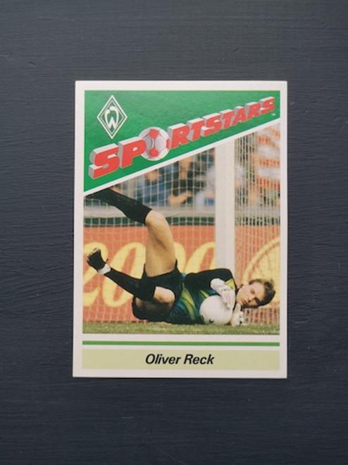 Oliver Reck Werder Bremen TONKA114 Card