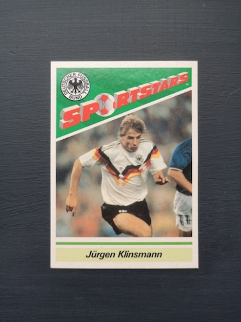 Jurgen Klinsmann West Germany TONKA141 Card