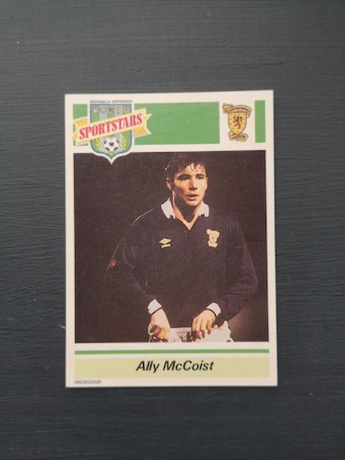 Ally McCoist Scotland TONKA165 Card