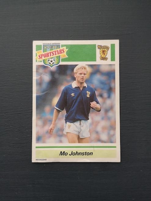 Mo Johnston Scotland TONKA166 Card