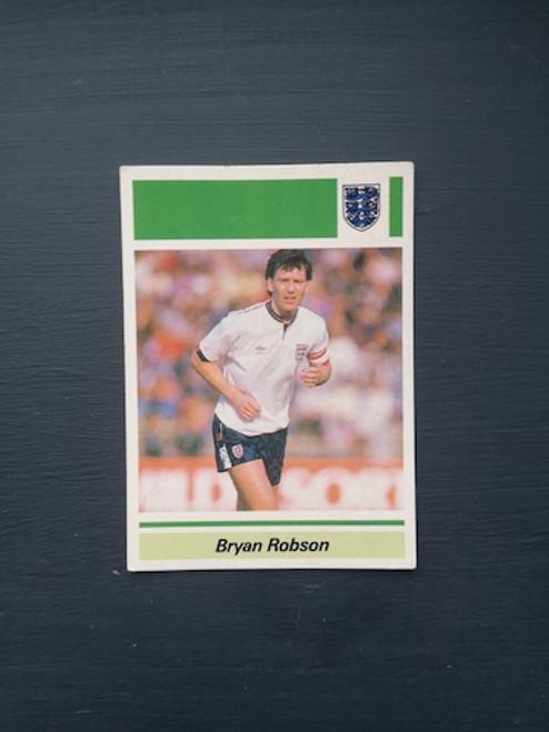 Bryan Robson England TONKA118 Card
