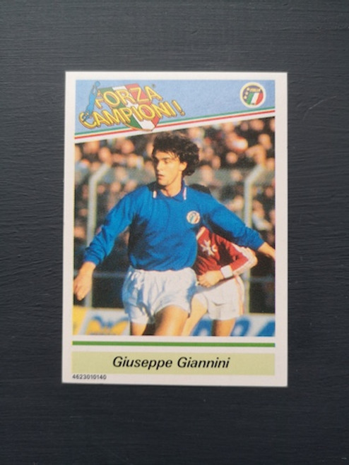 Giuseppe Giannini Italy TONKA157 Card