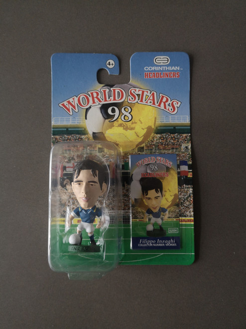 Filippo Inzaghi Italy WOR005 Blister