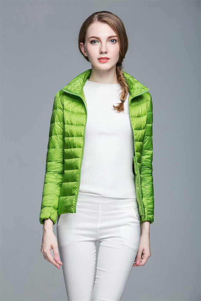 Women lightweight down jacket FO-0706-1