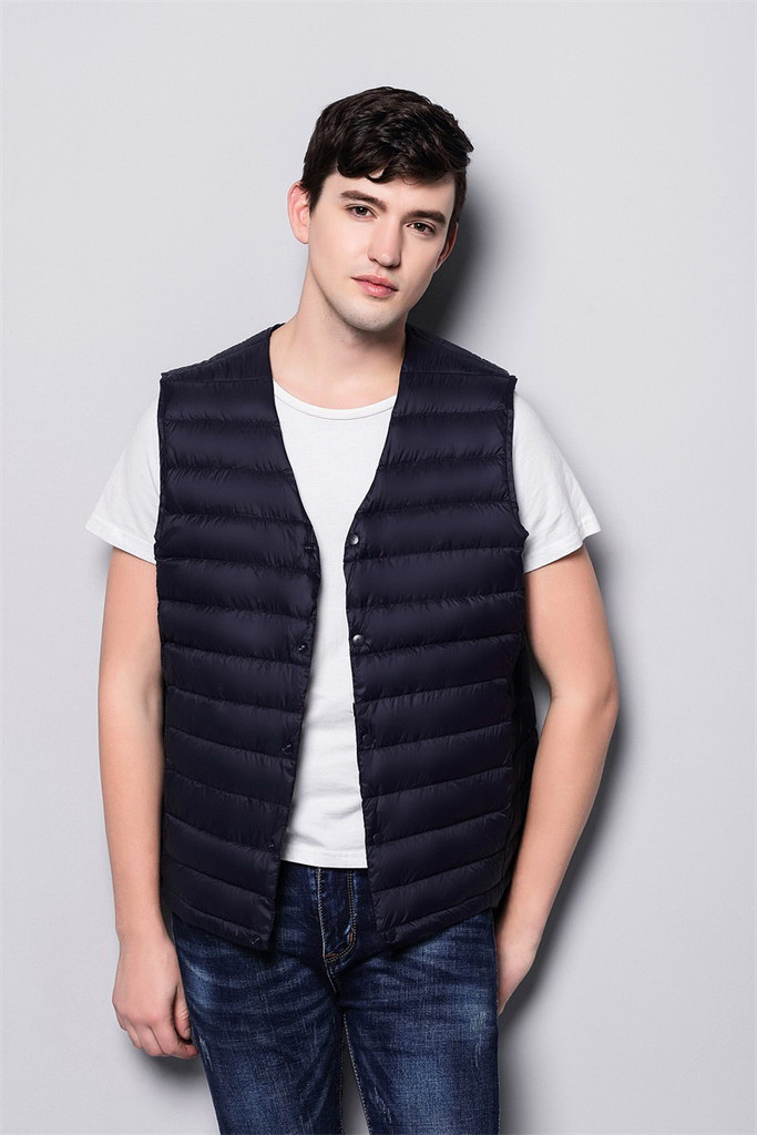 Man lightweight down vest FO-0753-1
