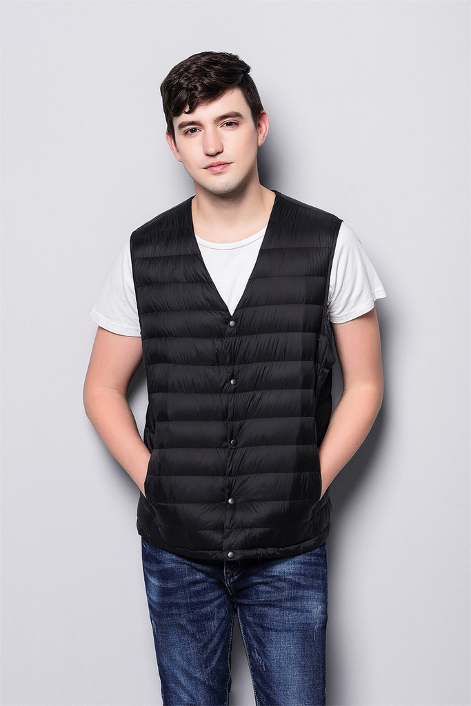 Man lightweight down vest FO-0753-2