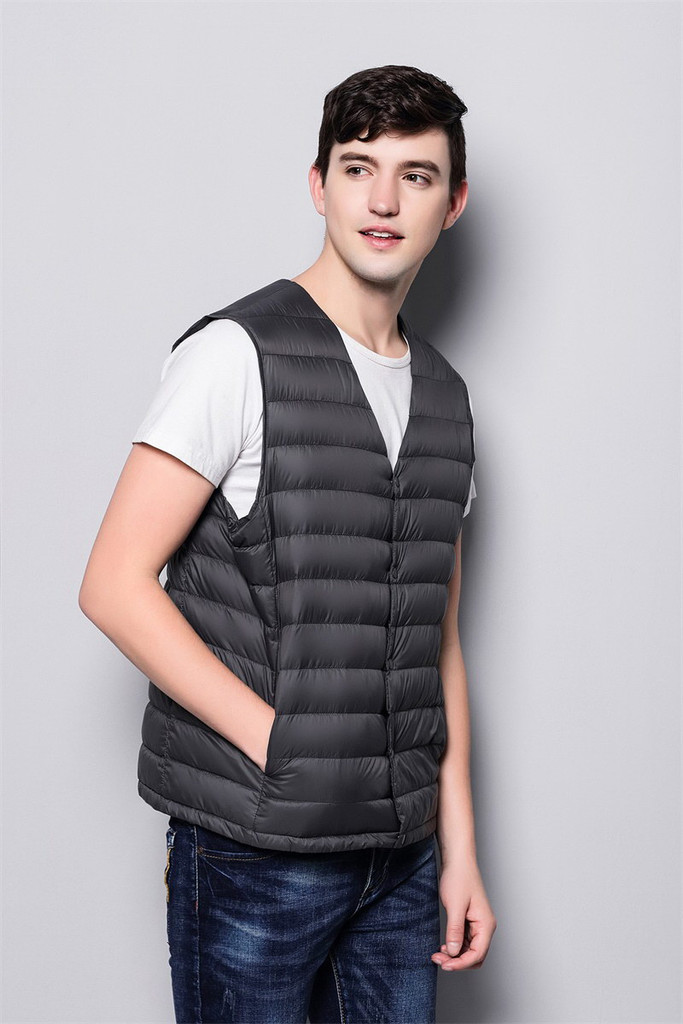 Man lightweight down vest FO-0753-4