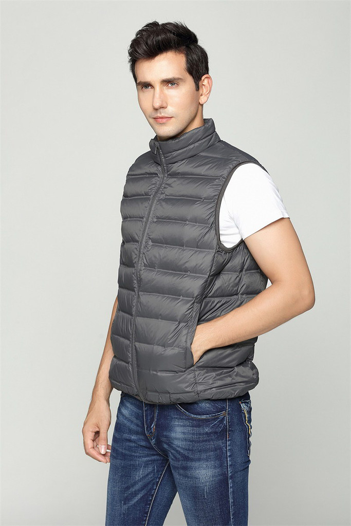 Man lightweight down vest FO-0754-3