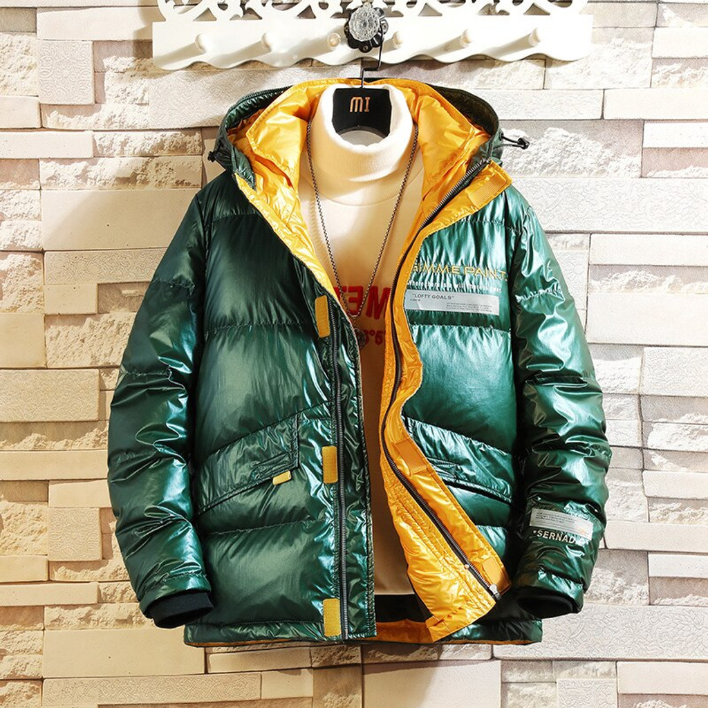 Man's down jacket FO-0789