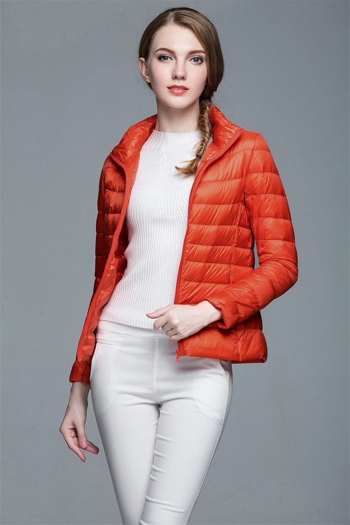 Women lightweight down jacket FO-0706-2