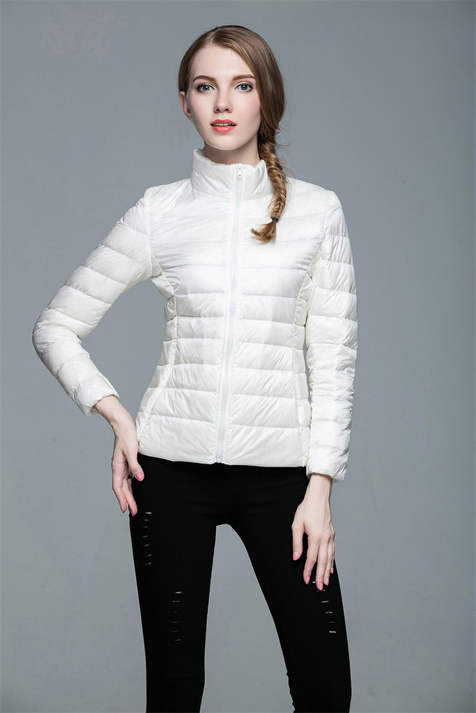 Women lightweight down jacket FO-0706-3