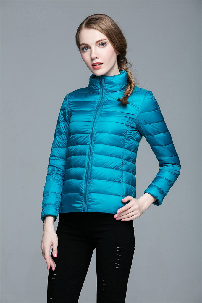 Women lightweight down jacket FO-0706-10