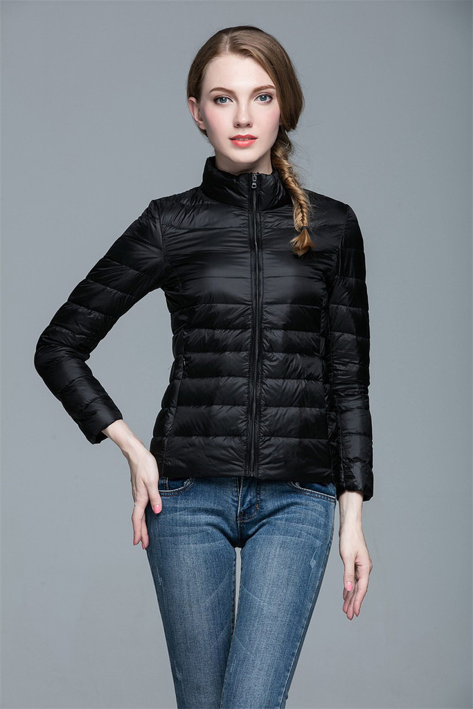 Women lightweight down jacket FO-0706-11