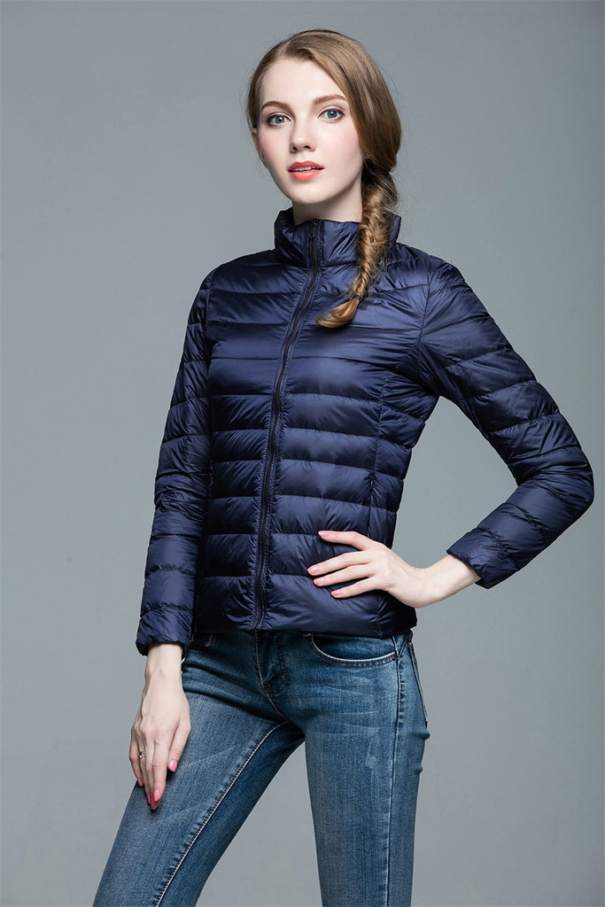 Women lightweight down jacket FO-0706-12
