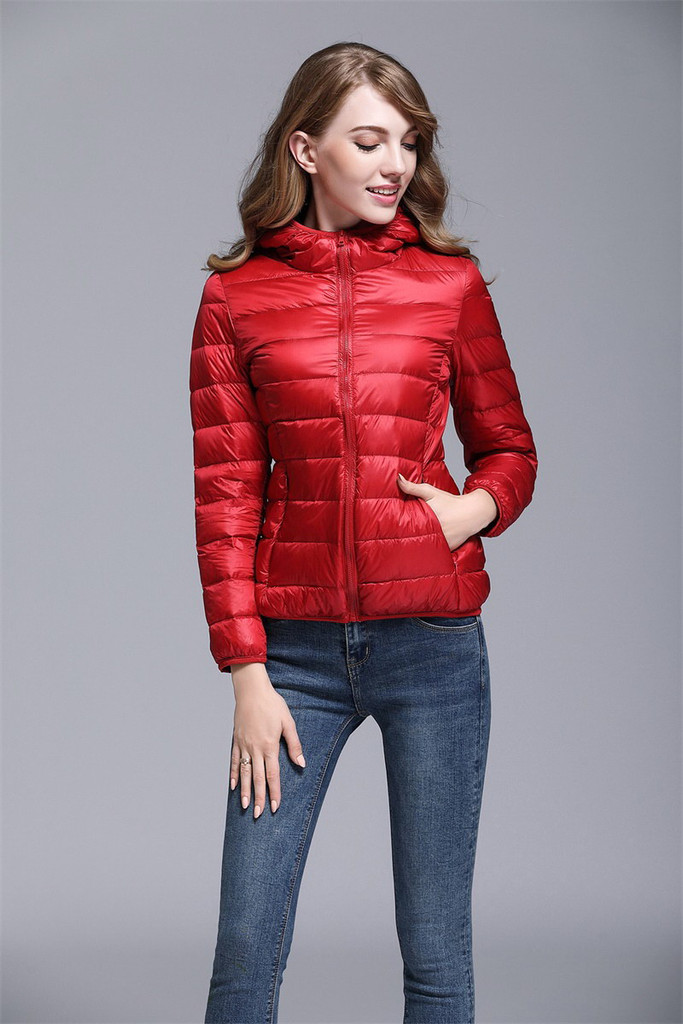 Women's short down jacket FO-0711-2