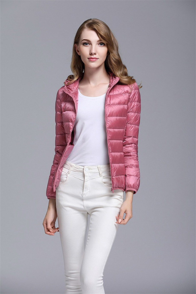 Women's short down jacket FO-0711-3