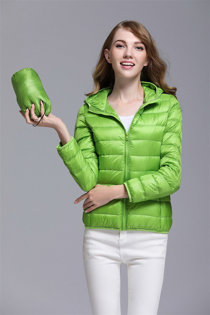 Women's short down jacket FO-0711-4