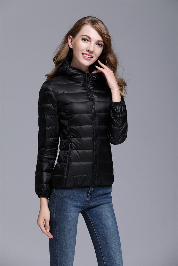 Women's short down jacket FO-0711-6