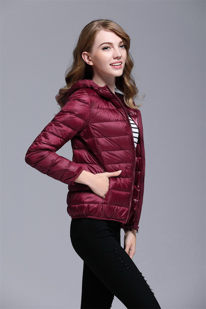 Women's short down jacket FO-0711-7