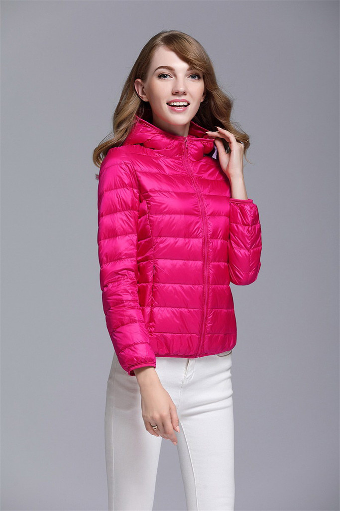 Women's short down jacket FO-0711-9