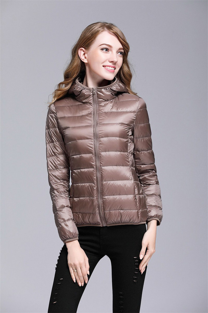 Women's short down jacket FO-0711-10