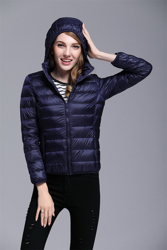 Women's short down jacket FO-0711-11