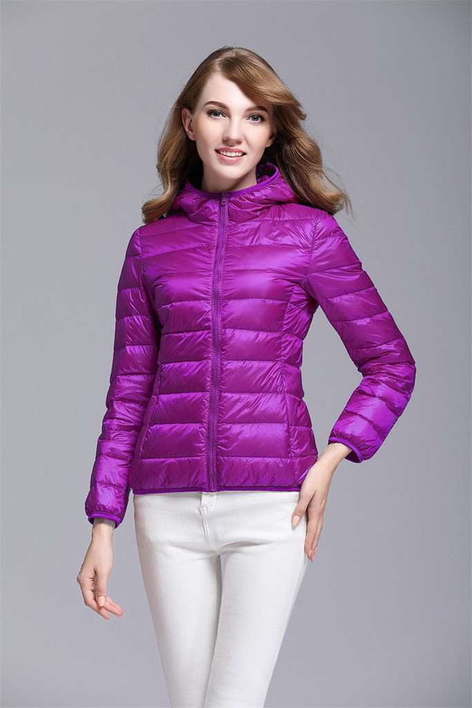 Women's short down jacket FO-0711-12