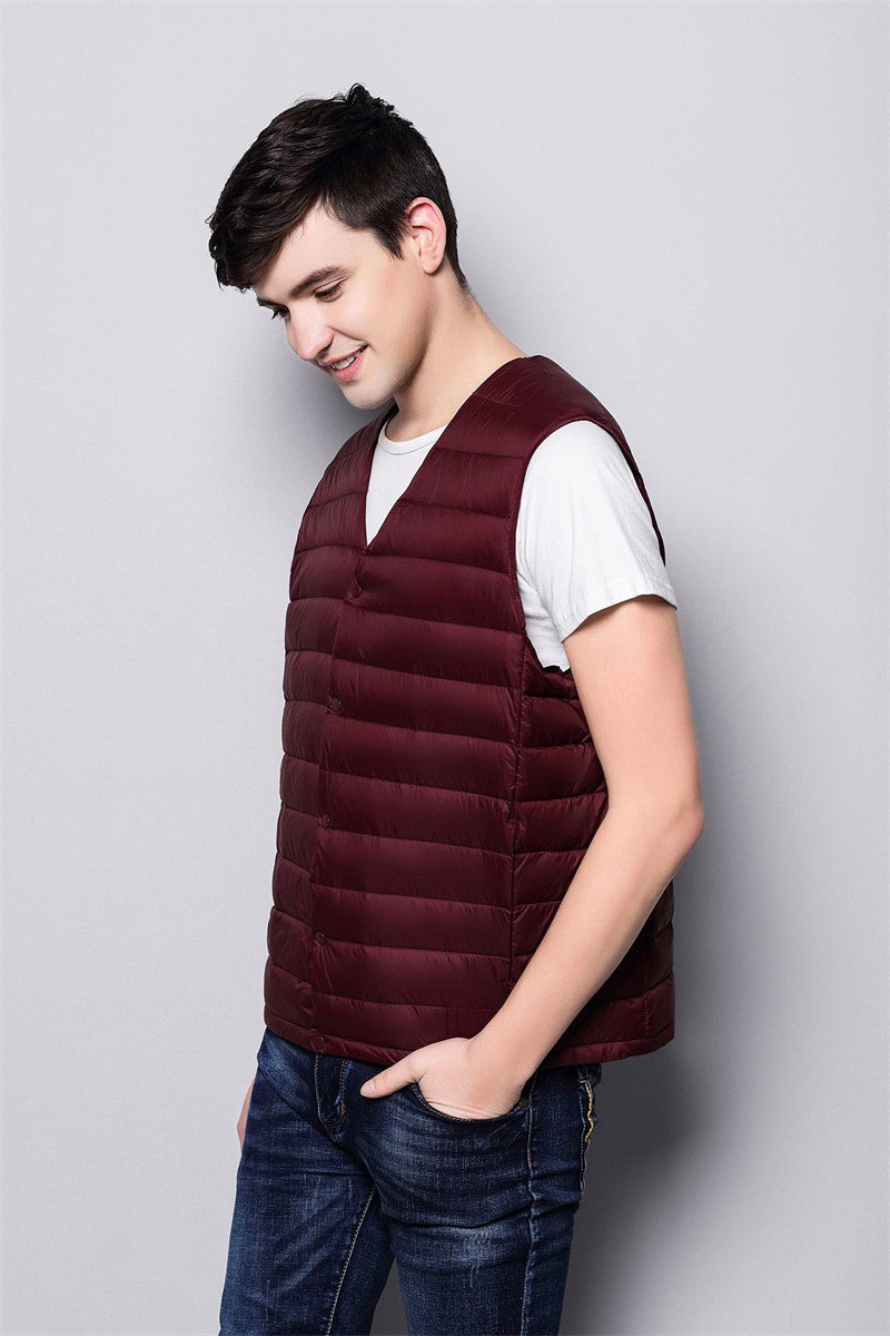 Man lightweight down vest FO-0753-3