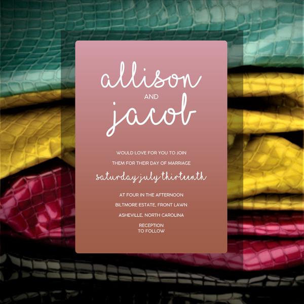 Allison (rose gold mirror)
