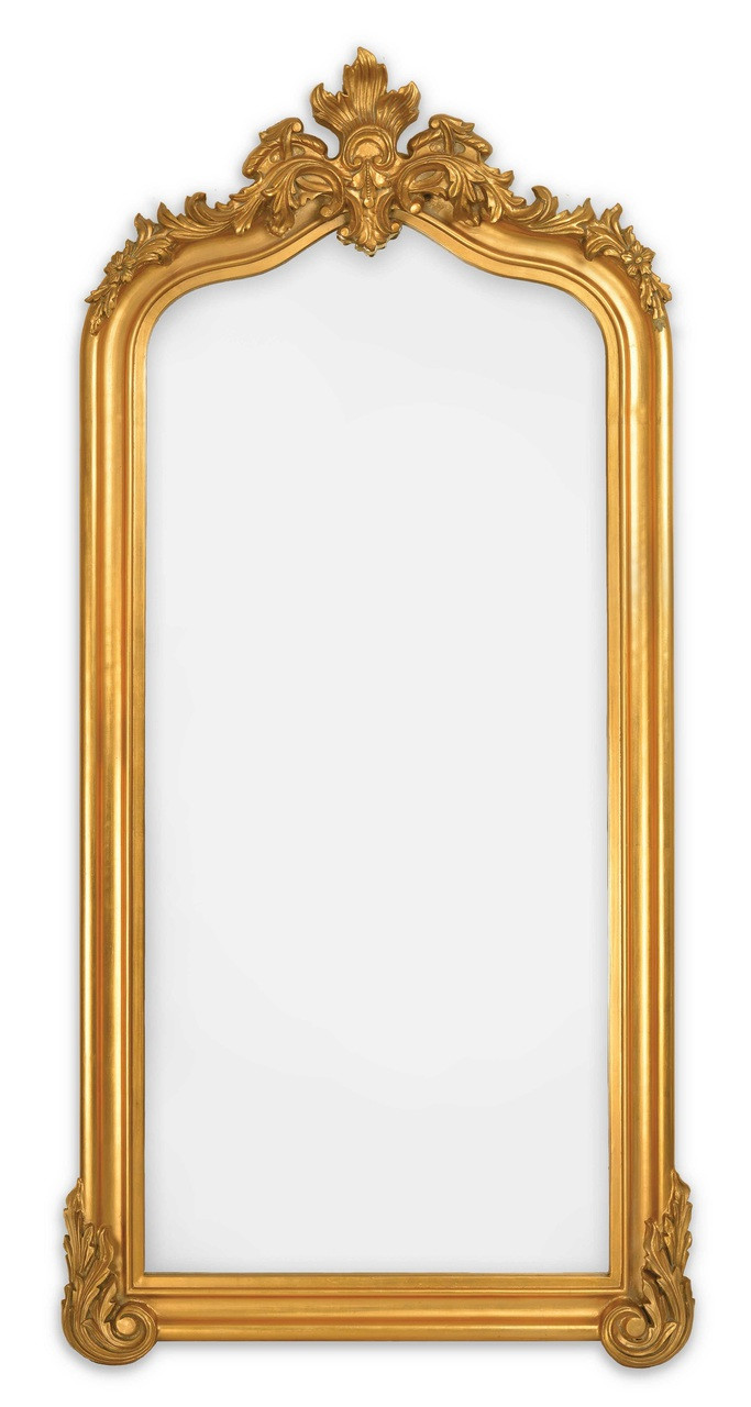 Blenheim Traditional Large Antique Gold Full Length Mirror Sbc Decor