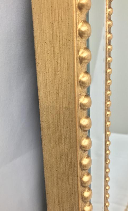 Roxeburghe Gold Accent Wall Mirror Sbc Decor