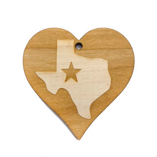 Heart with Texas Inside