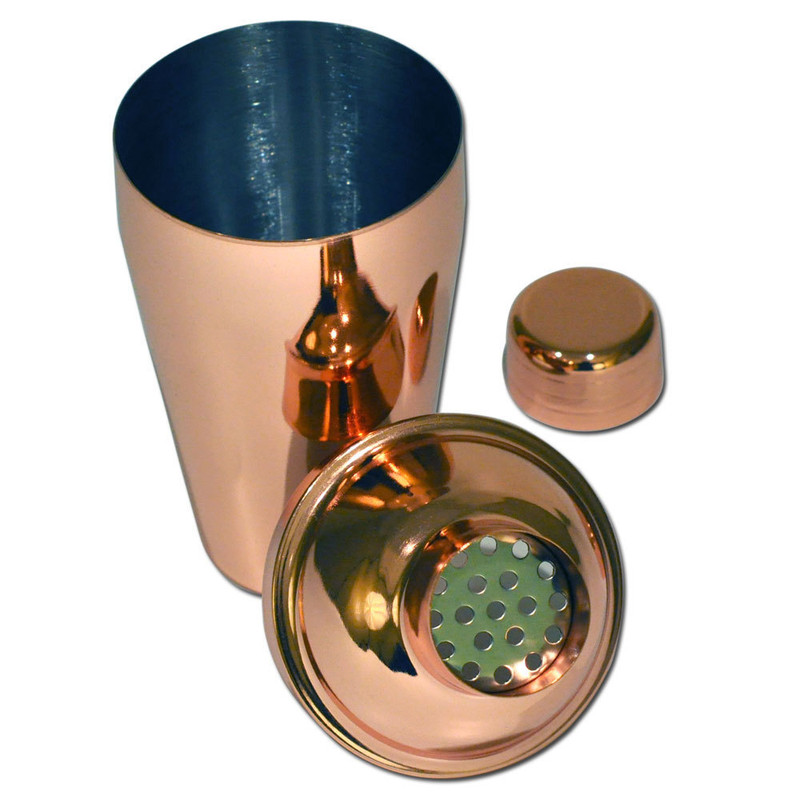 Copper Cocktail Shaker Apart
