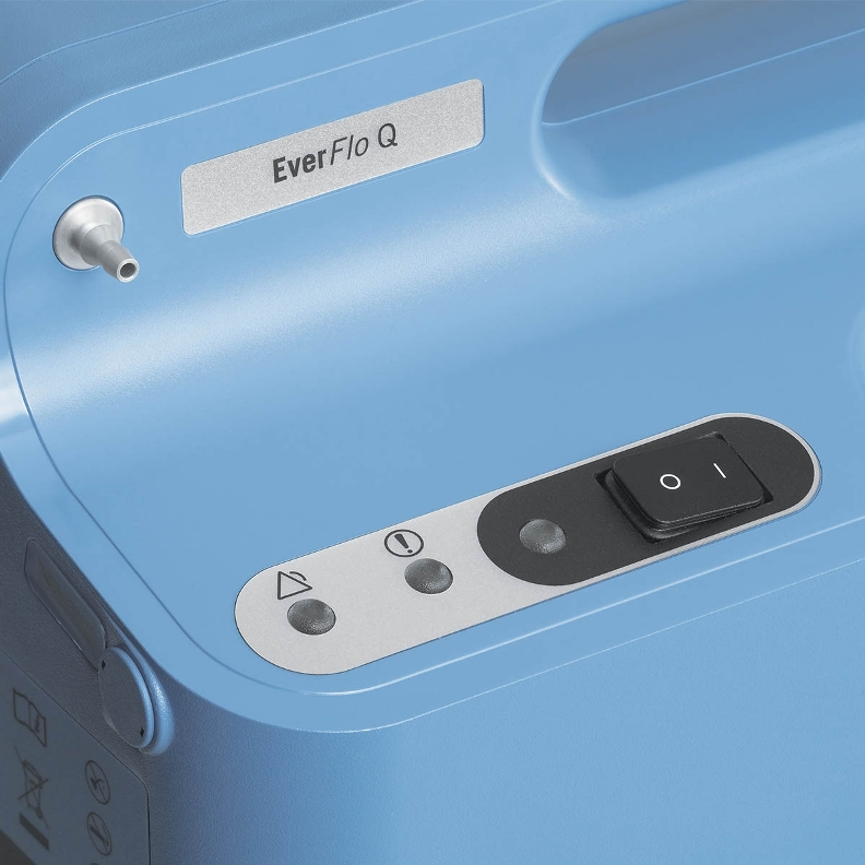 PHILIPS RESPIRONICS EVERFLO Q OXYGEN 5 LPM