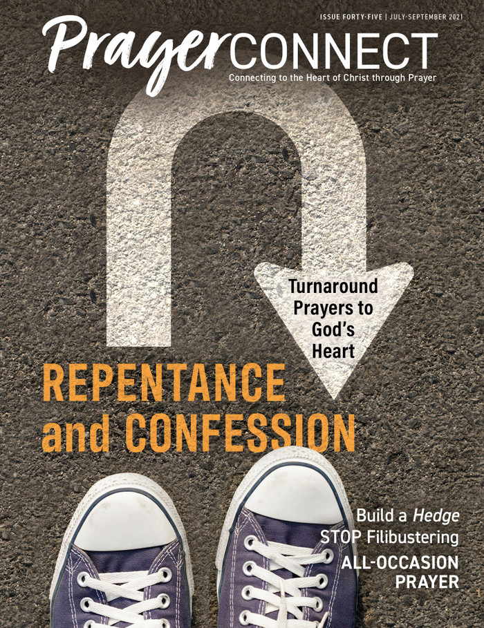 Prayer Connect Issue 45 -- Repentance and Confession