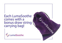 LumaSoothe Comes with a carrying bag! FREE!
