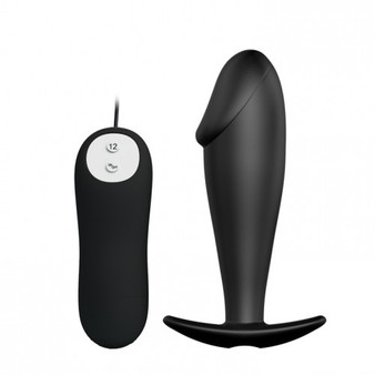 Pretty Love Special Anal Stimulation Butt Plug - Black