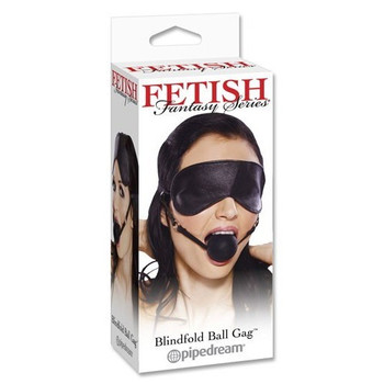 Blindfold with Ball Gag by Fetish Fantasy