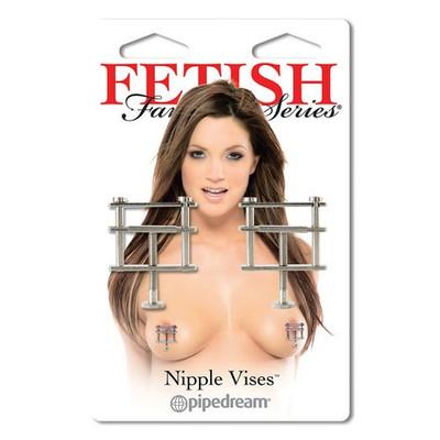 Fetish Fantasy Metallic Adjustable Nipple Vises