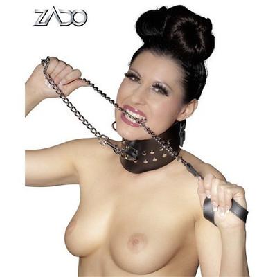 Metal chain leash 110cm