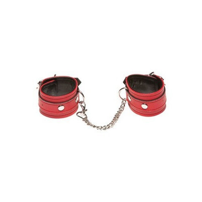 Allure Xplay Red Chain Ankle cuffs