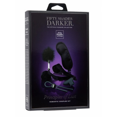Fifty Shades Darker Principles of Lust Romantic Couples Kit 1