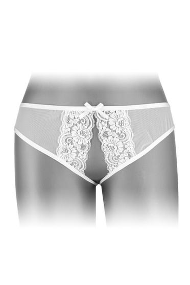 Culotte ouverte blanche Christine Fashion Secret O/S
