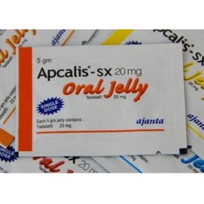 Apcalis Oral Jelly Tadalafil 20mg  (1 week Pack +5) 12pcs (Ελληνική Περιγραφή)