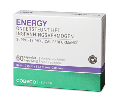 Cobeco 100% Natural Energy Supplement 60tabs