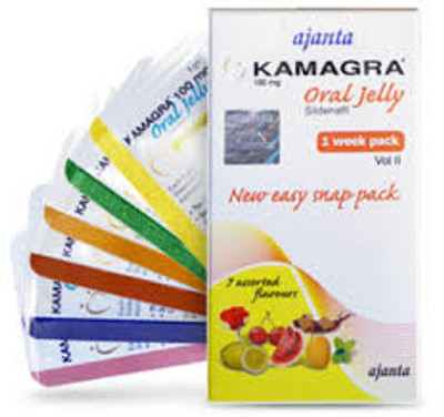 Kamagra Oral Jelly Sildenafil 100mg 4pcs