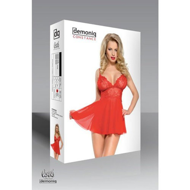 Constance Red Babydoll Set  (Buy Here Save €12)