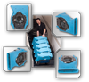 VELO - LOW PROFILE AIRMOVER, DRIEAZ
