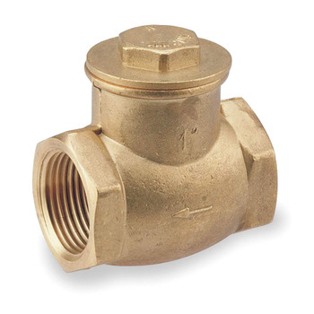 CHECK VALVE - SWING - BRASS - 3/4""